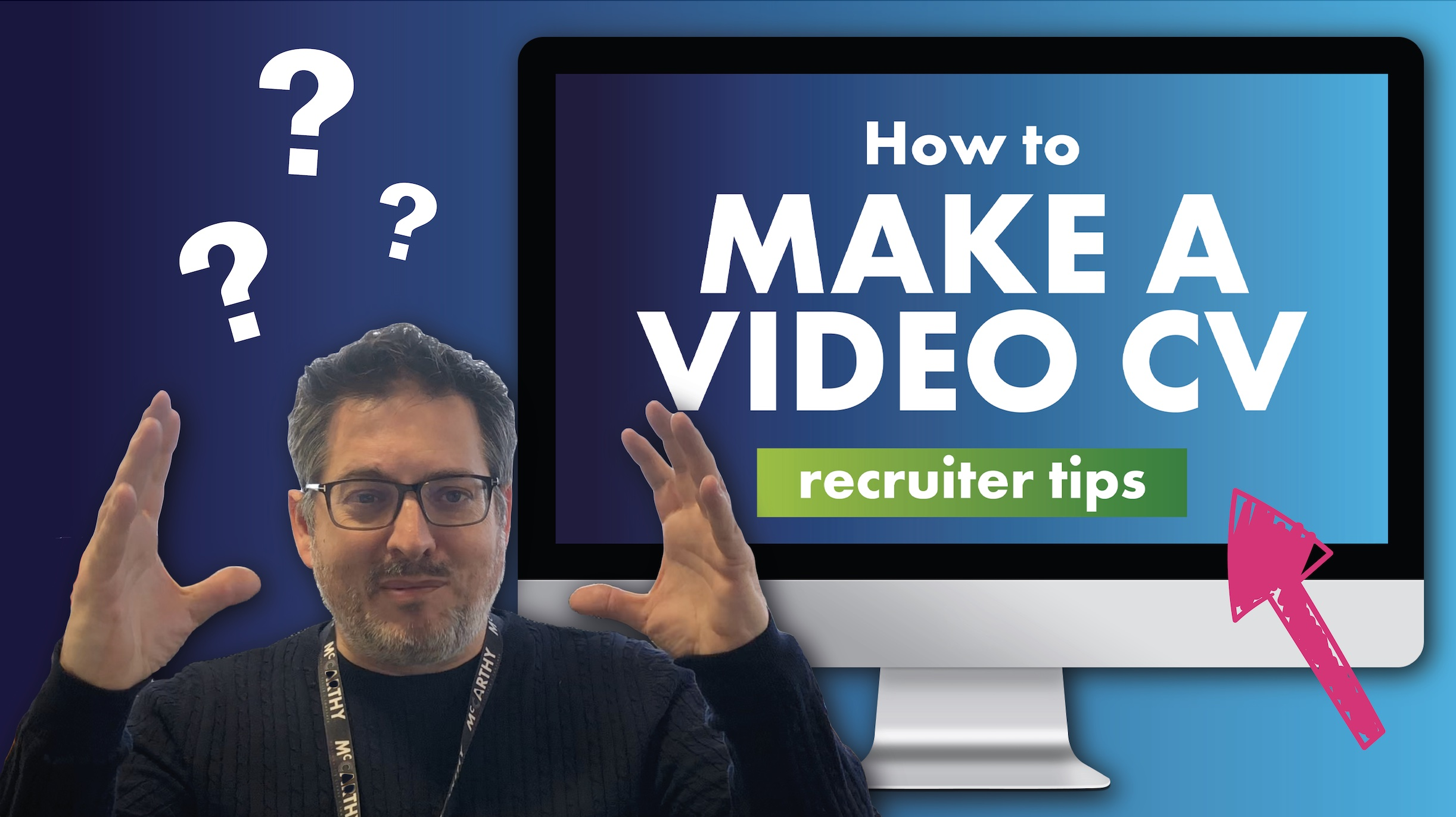How to make a video CV