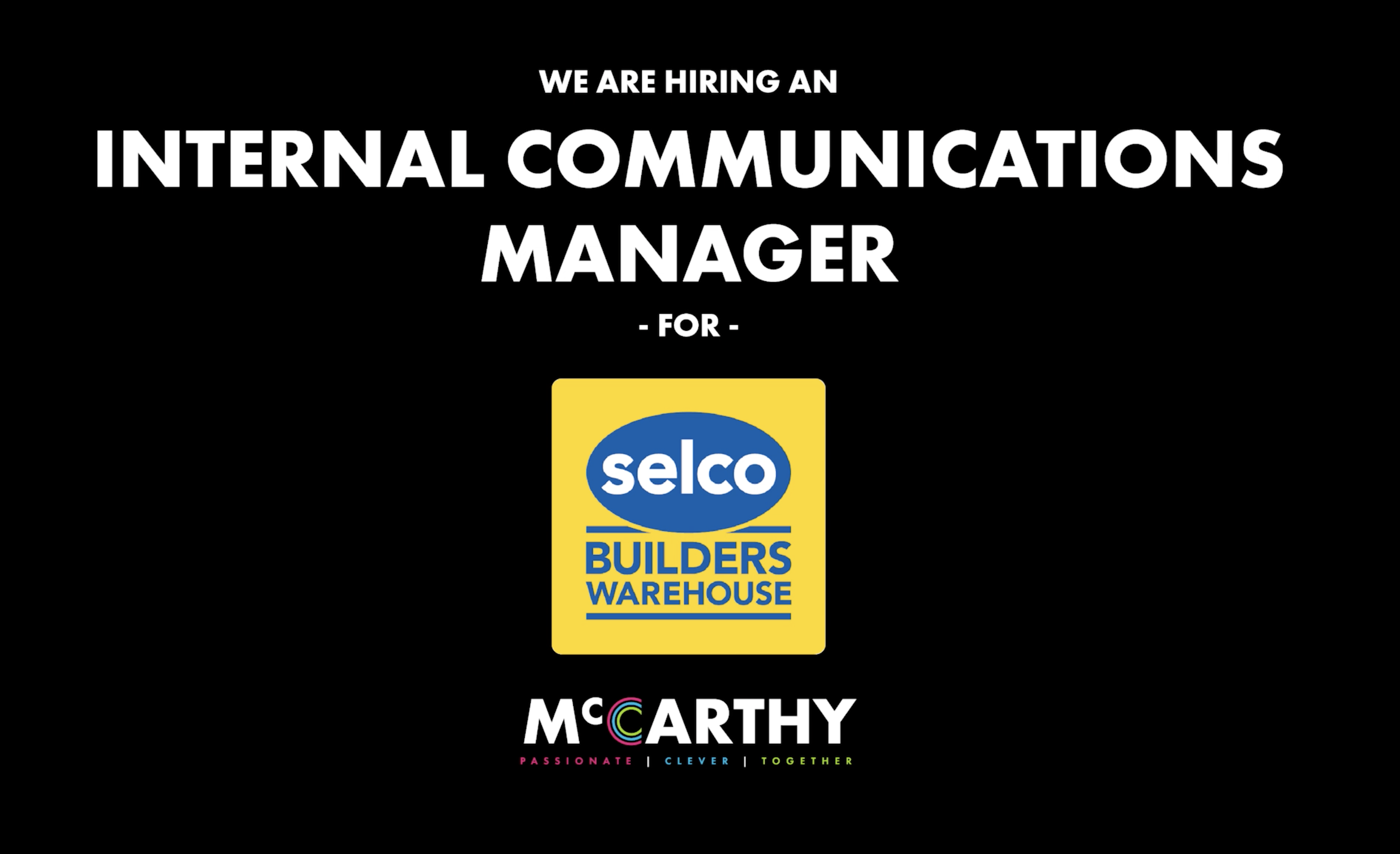 Internal communications manager